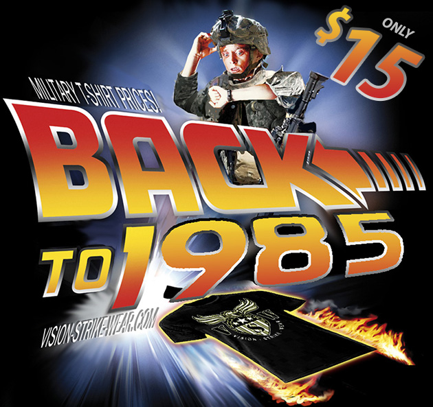 Back To 1985 Military Shirt Sale!