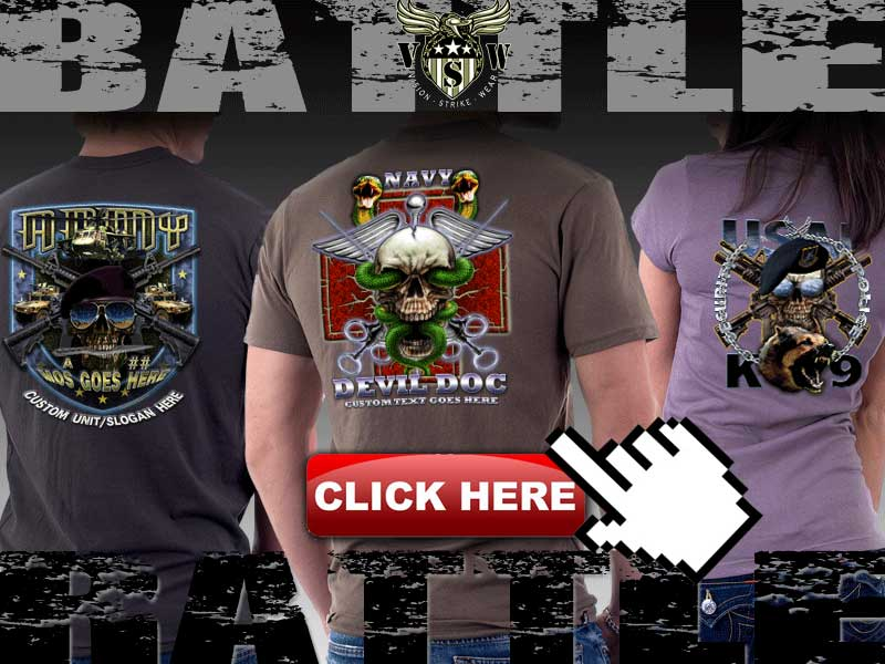 Design Your Own Military T-Shirt