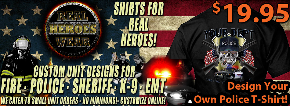 police and fire shirts