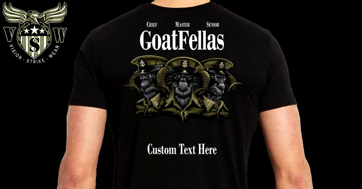 GoatFellas Navy Shirt