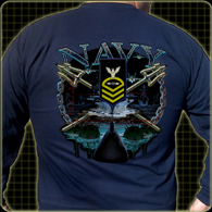 Navy Rank and Rate Shirt