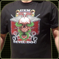 USN Devil Doc Shirts