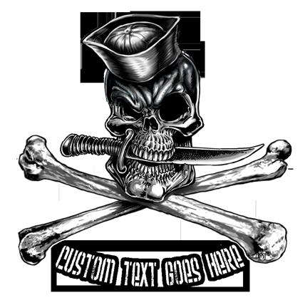 Naval Skull And Bones Shirt Navy Pirate Shirt