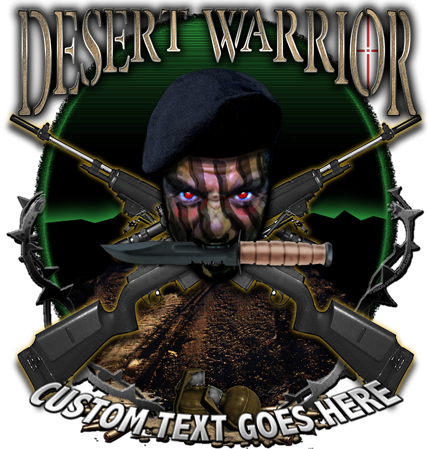 Desert Warrior OIF OEF Shirt