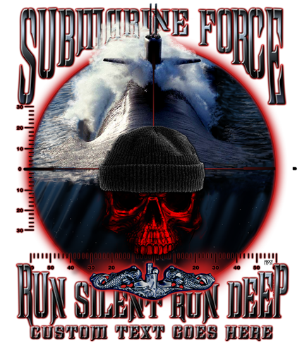 Navy Submarine Force Run Silent Run Deep Shirt