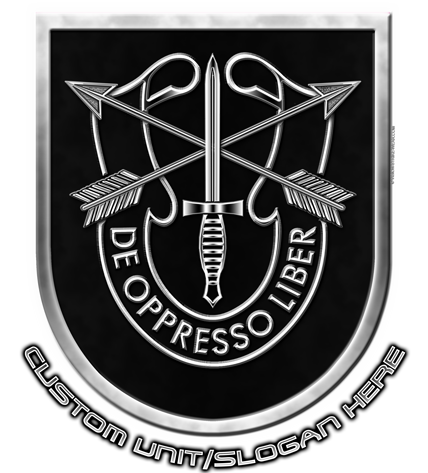 Special Forces Group De Oppresso Liber Military Shirts