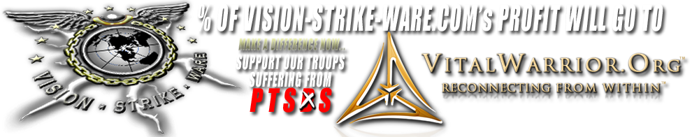 Vision-Strike-Ware.com Supports Vital Warrior!